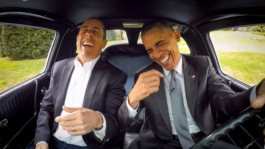 Jerry Seinfeld's 'Comedians in Cars Getting Coffee' is for sale