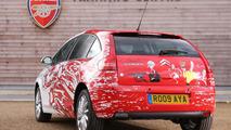 Citroën C4 Arsenal Fans Car