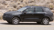 Next Gen 2011 VW Touareg first full body spy photos in American desert