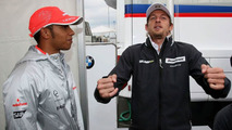 Button predicts 'same as Bahrain' in Wednesday drizzle
