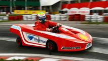 Massa tests kart in Brazil
