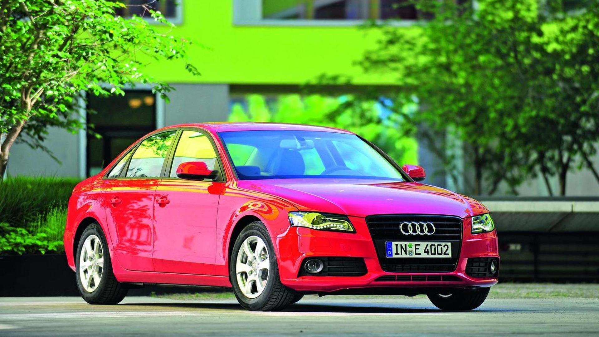 Audi launches A4 2.0 TDI - averages 4.4 L/100km