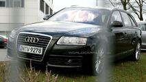 Audi A6 Facelift spy photos