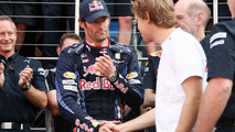 Webber flags team talks about 'no.2' treatment - RESULTS