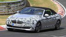 BMW 6 Series Convertible caught less disguised on Nurburgring