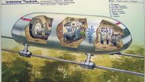 High-speed Detroit-Lansing mag-lev rail line