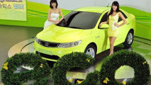 Kia Forte LPI hybrid Electric Vehicle