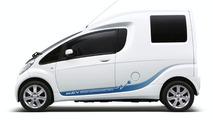 Mitsubishi i-MiEV Cargo Concept in Tokyo