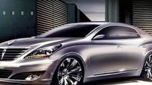 2010 Hyundai Equus Renderings Emerge