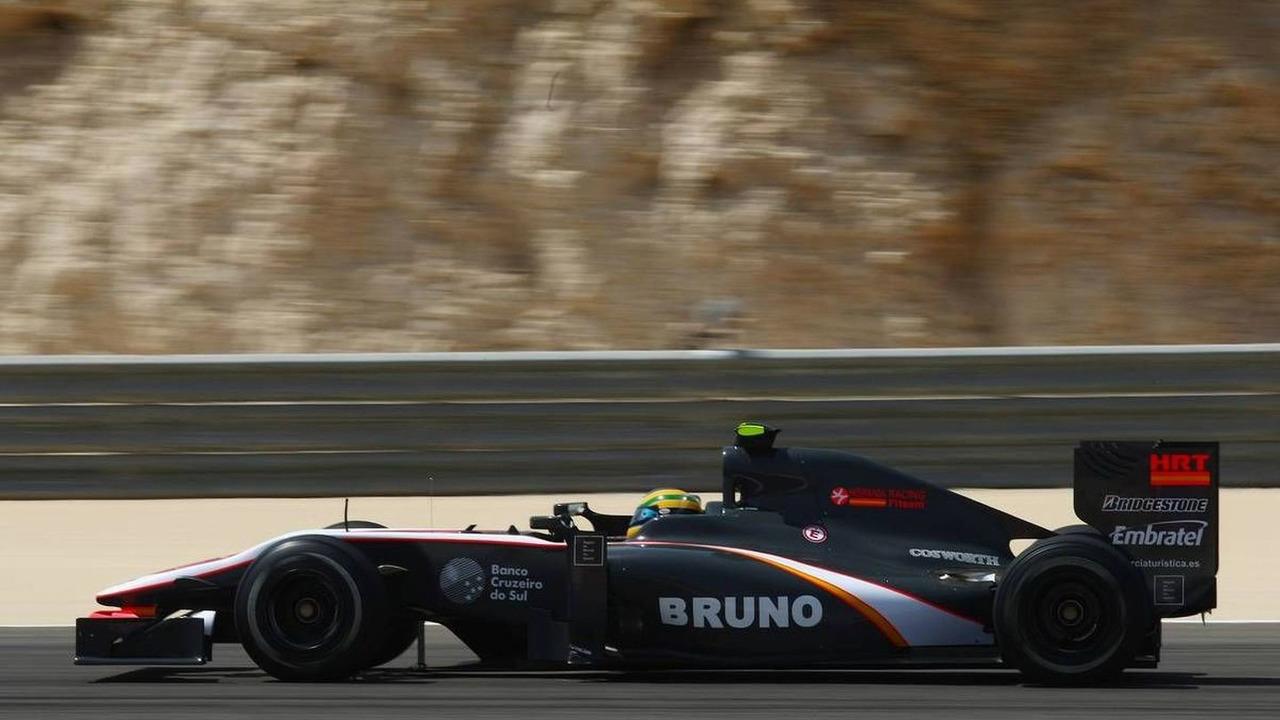 Bruno Senna (BRA), Hispania Racing F1 Team - Formula 1 World Championship, Rd 1, Bahrain Grand Prix, Friday Practice