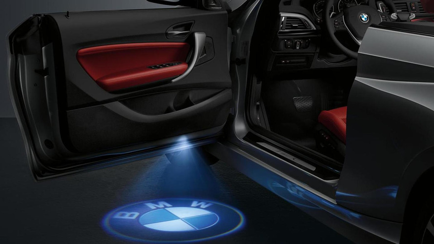 BMW 2-Series Convertible available with optional LED door projector
