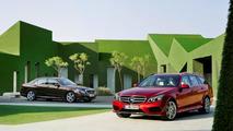 Mercedes-Benz E-Class estate and sedan