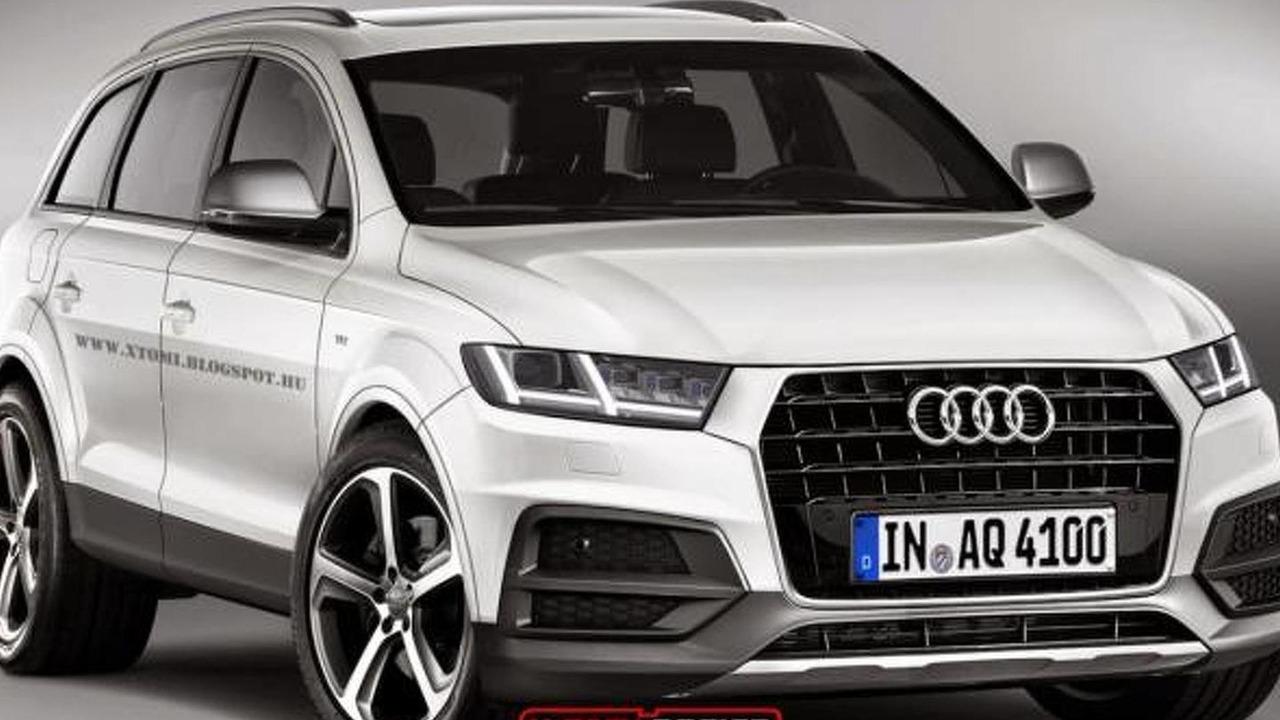 2015 Audi Q7 render