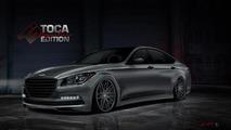 Hyundai Genesis gets a twin-turbo V8 for SEMA