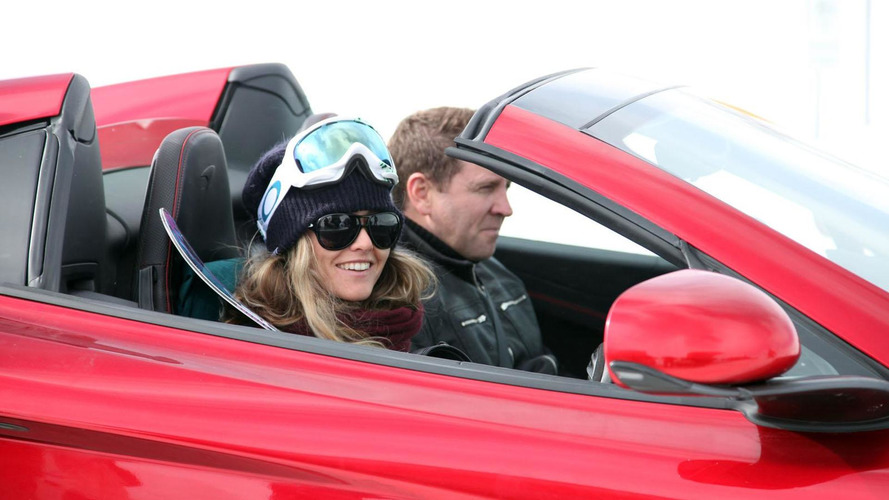 McLaren 12C Spider hits the slopes with Rhys Millen [video]