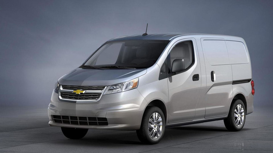 2015 Chevrolet City Express announced, based on the Nissan NV200
