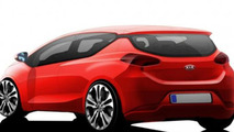Second 2013 Kia Pro_cee'd teaser rendering allegedly released