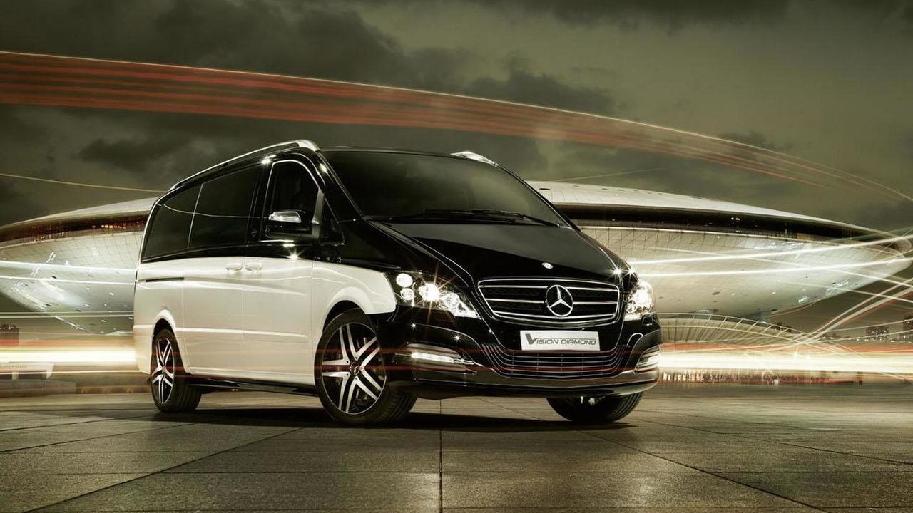 Mercedes Viano Vision Diamond concept 23.4.2012