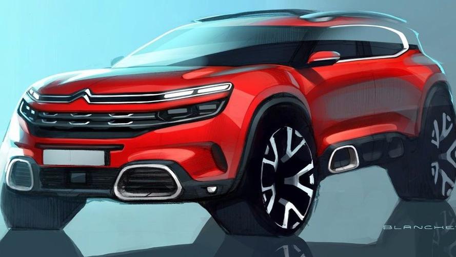 Citroën C5 Aircross - Un nouveau SUV chez Citroën