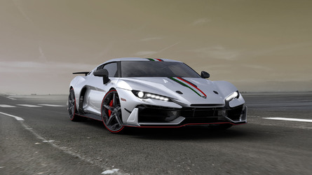 Italdesign Speciali is a carbon fiber fest with a mid-mounted V10