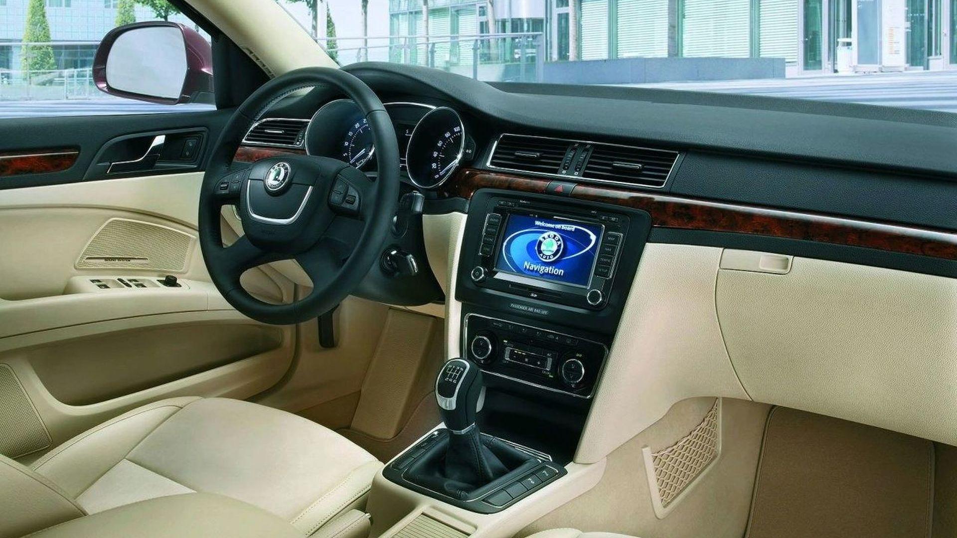 Skoda Superb Interior and Twindoor Revealed