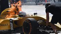 F1 - Un spectaculaire incendie qui pose des questions