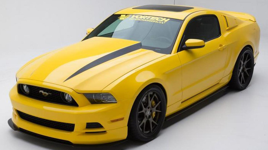 605 bhp Mustang Yellow Jacket previewed by Vortech ahead of SEMA arrival