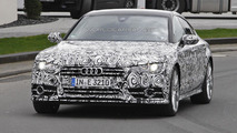 Audi S7 facelift spied near the Nurburgring