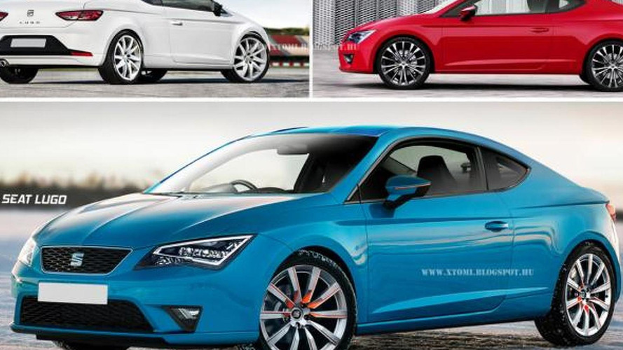 Seat Lugo rendered as a true Leon coupe