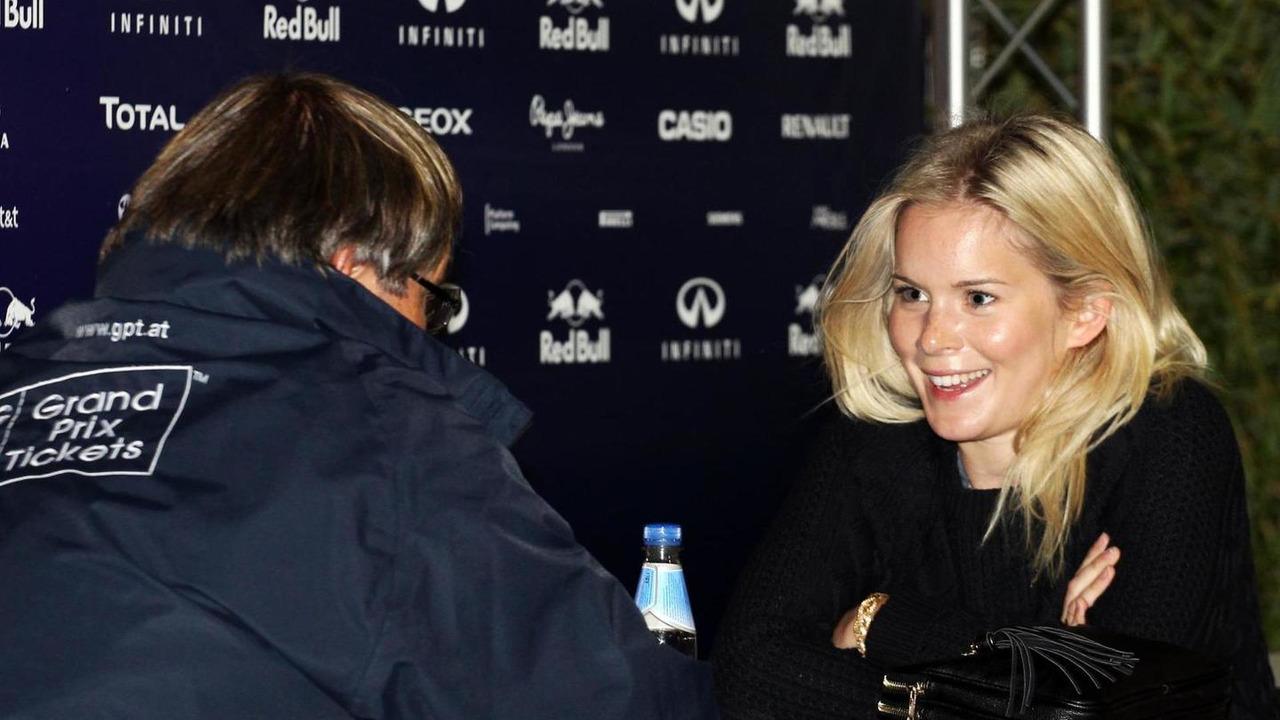 Hanna Prater girlfriend of Sebastian Vettel 17.03.2013 Australian Grand Prix