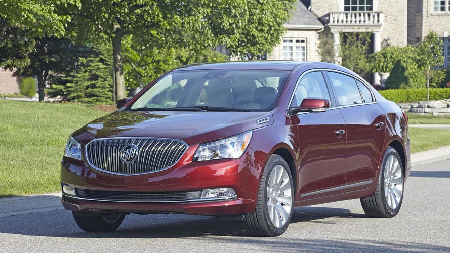 2014 Buick LaCrosse pricing announced