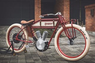 This Vintage Motorcycle is Actually an e-Bike