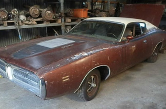 You'll Never Guess Where Someone Found This 1971 Dodge Charger R/T