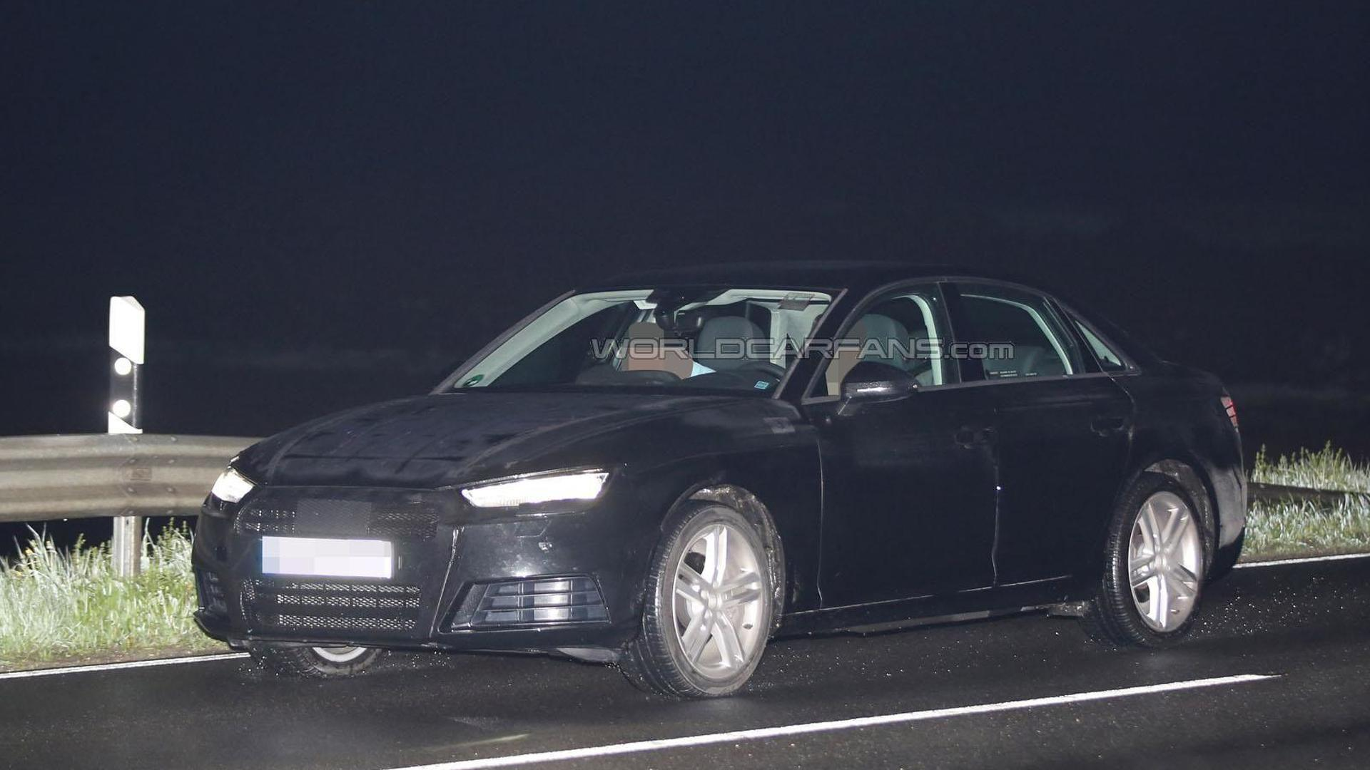 2016 Audi A4 is back in black... camouflage