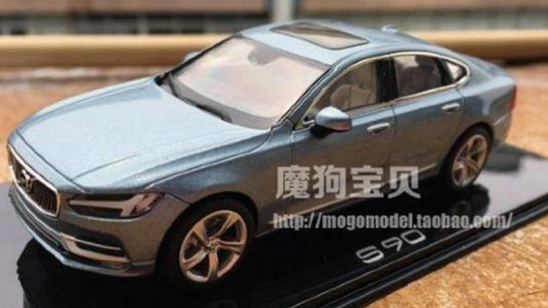 Volvo S90 leaks out thanks to scale model