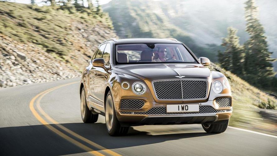 Bentley Bentayga officially unveiled [videos]