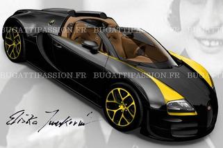 Leaked: Bugatti Honors Elizabeth Junek with Legend Edition Veyron