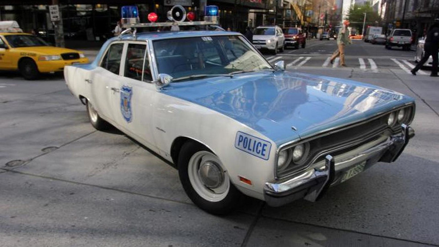 1970 Plymouth Satellite serves as Seattle police cruiser [video]