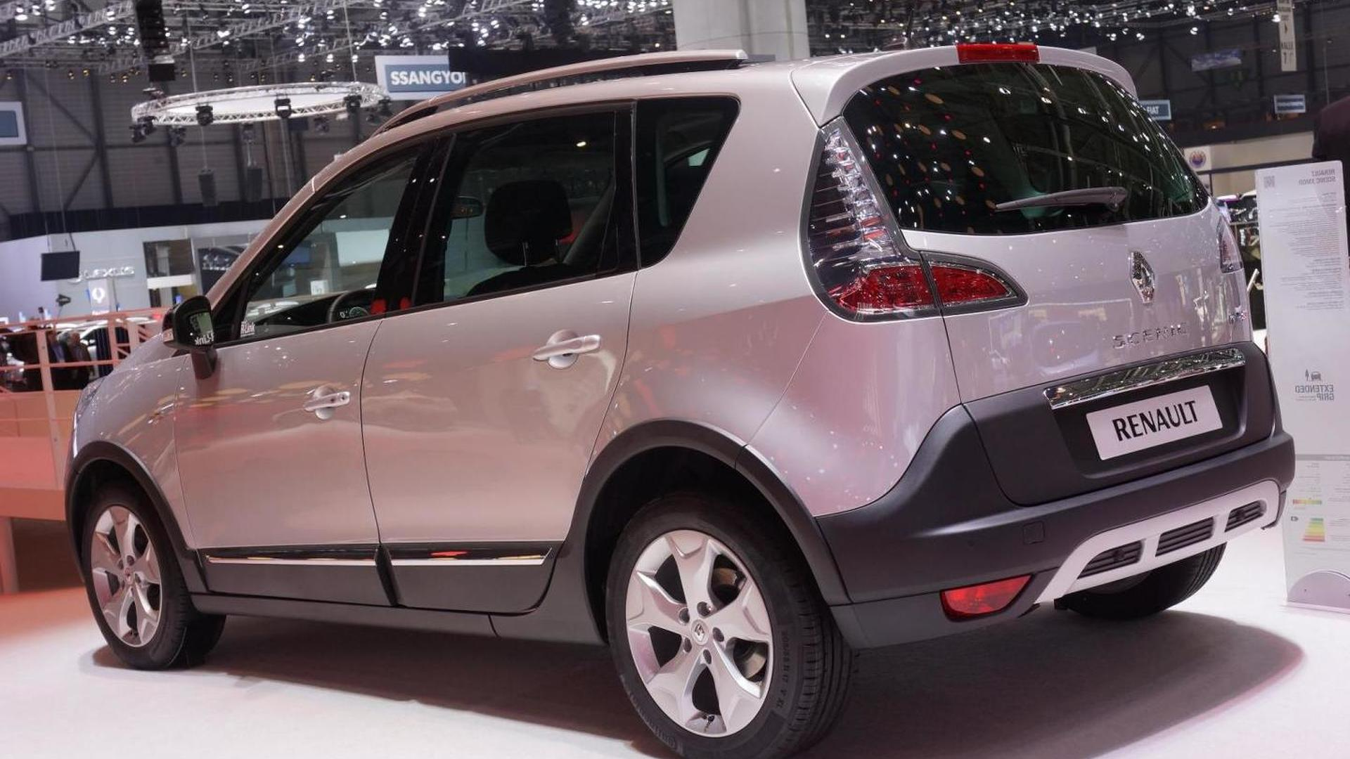 Renault Scenic XMOD presented in Geneva