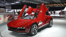 Italdesign Giugiaro Parcour coupe and roadster concepts revealed