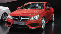 2014 Mercedes E-Class Coupe live in Detroit 14.01.2013
