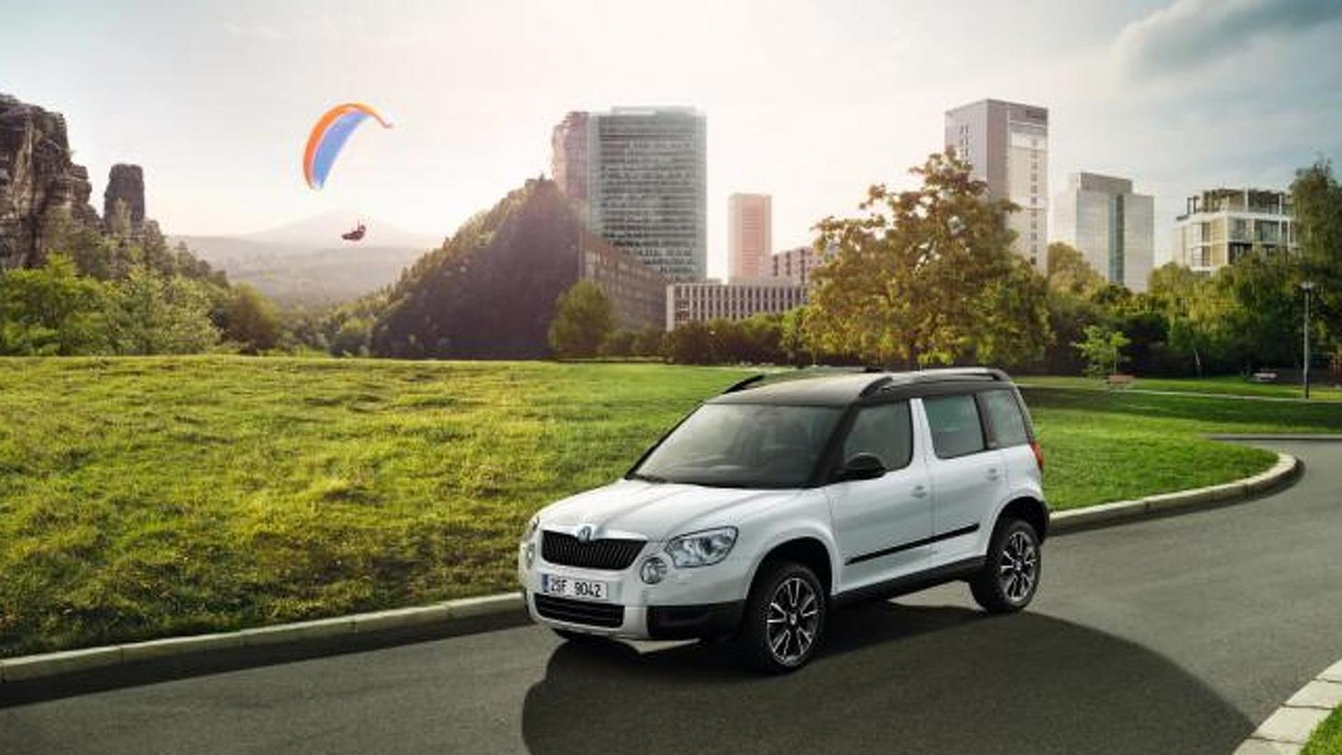 Skoda Yeti Adventure Edition announced (UK)