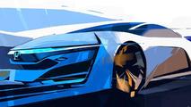 Honda FCEV concept teased for L.A. debut