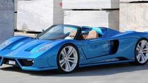 Montecarlo Automobile Rascasse supercar announced with BMW V12 engine