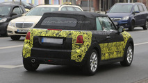 2014 MINI Convertible spied with the soft top on