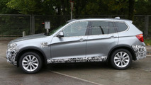 2014 BMW X3 facelift spy photo 15.10.2013