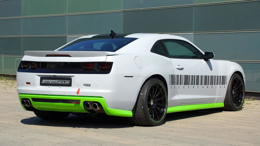 Geigercars introduces the Camaro LS9, tops out at 210 mph