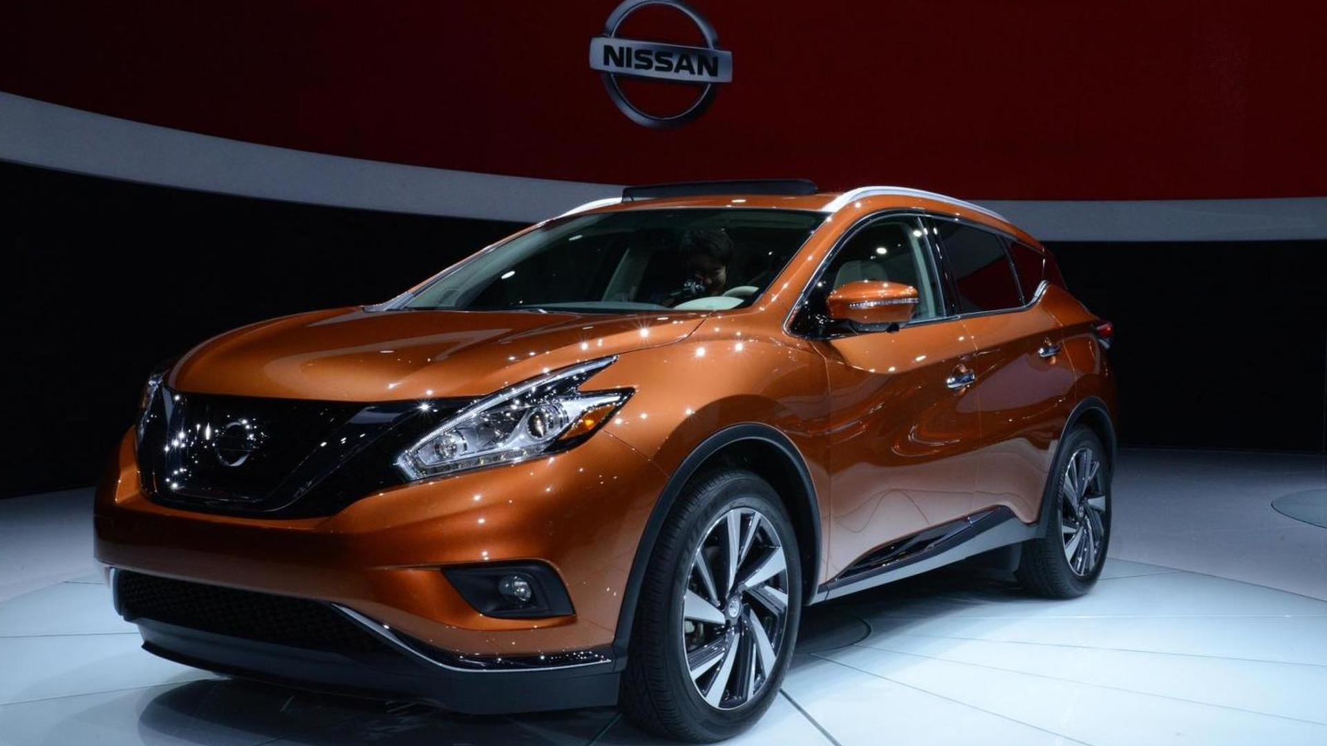 2015 nissan murano unveiled in new york. Black Bedroom Furniture Sets. Home Design Ideas
