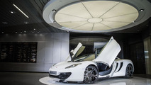 McLaren P1 & 12C B&W Edition shown in Hong Kong
