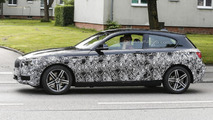 2015 BMW 1-Series facelift spy photo